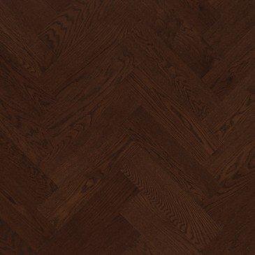 Planchers de bois franc Chêne Rouge Brun / Mirage Herringbone Vienna