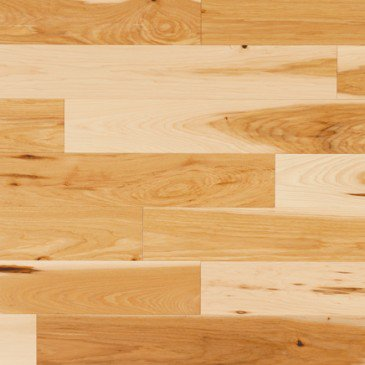 Natural Hickory Hardwood flooring / Natural Mirage Natural