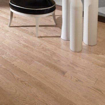 Golden Red Oak Hardwood flooring / Hudson Mirage Herringbone / Inspiration