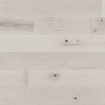 Planchers de bois franc Érable Blanc / Mirage Herringbone Snowdrift