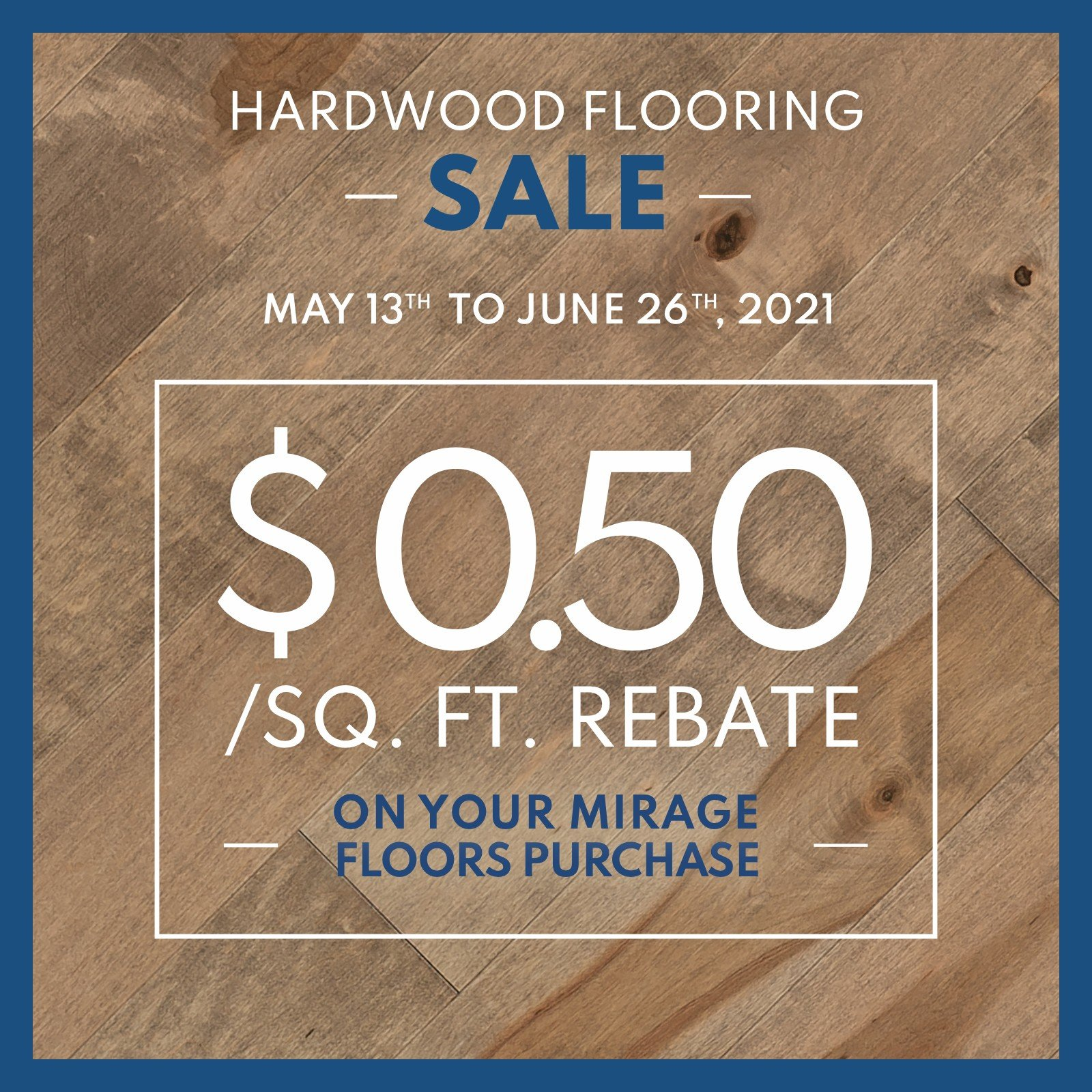 Mirage Hardwood Flooring Sale
