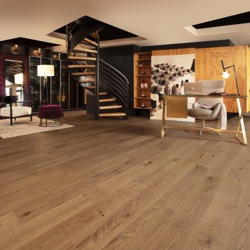 Brown Red Oak Hardwood flooring / Papyrus Mirage Imagine / Inspiration