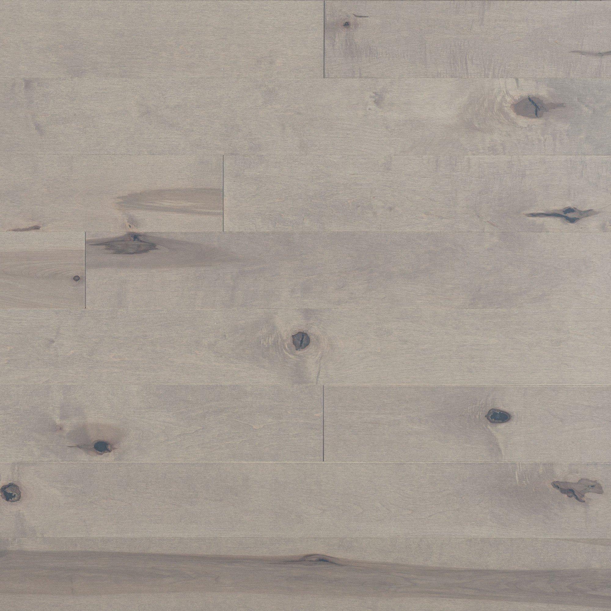 Érable Grey Drizzle Caractère Prononcé - Image plancher