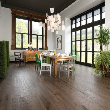 Red Oak Barn Wood Character Distressed - Floor image