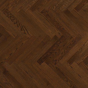 Planchers de bois franc Chêne Rouge Brun / Mirage Herringbone Rich Oak