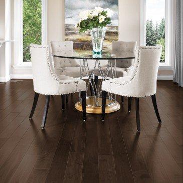 Brown Yellow Birch Hardwood flooring / Waterloo Mirage Admiration / Inspiration