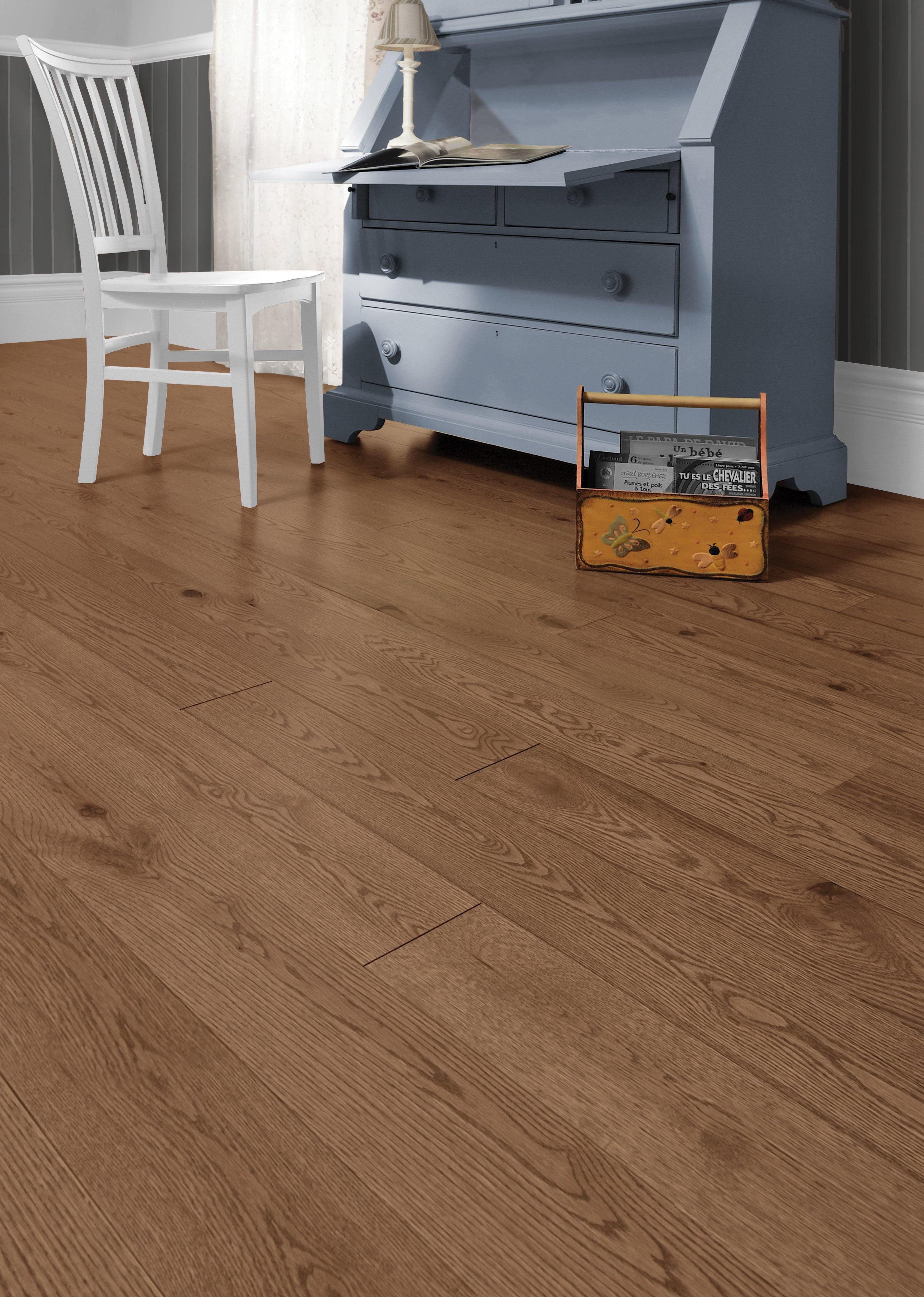 Red Oak Carmel Character Brushed - Ambience image