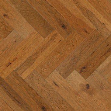 Planchers de bois franc Hickory Doré / Mirage Herringbone Sierra