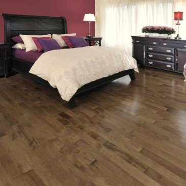 Brown Maple Hardwood flooring / Savanna Mirage Herringbone / Inspiration