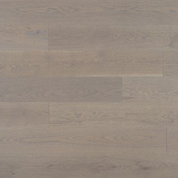 Chêne blanc Grey Drizzle Caractère Brossé - Image plancher