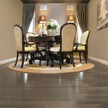 Grey Red Oak Hardwood flooring / Platinum Mirage Admiration / Inspiration