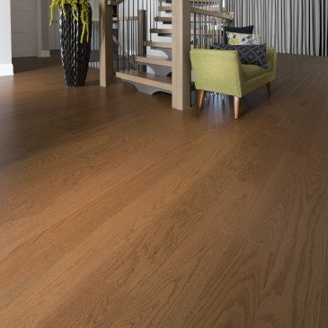 Golden Red Oak Hardwood flooring / Sierra Mirage Admiration / Inspiration