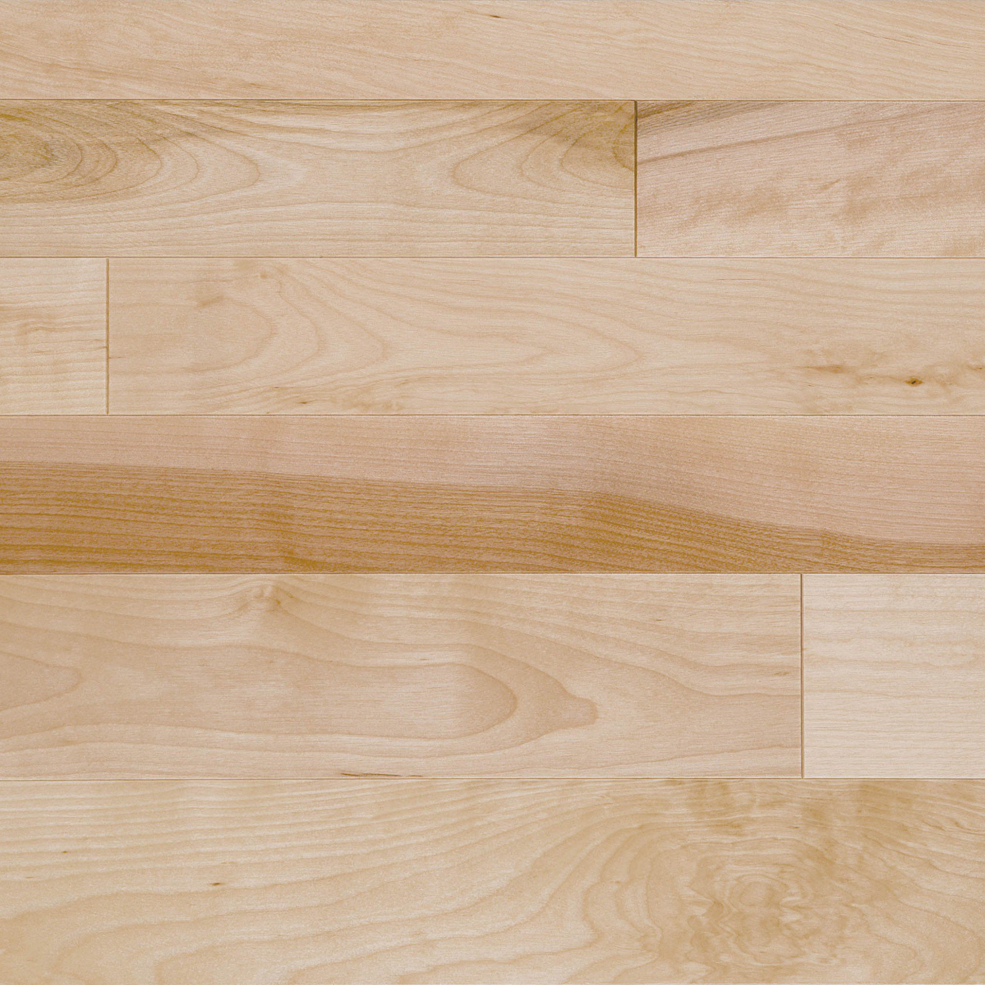 Natural yellow birch exclusive mirage hardwood floors for Birch hardwood flooring